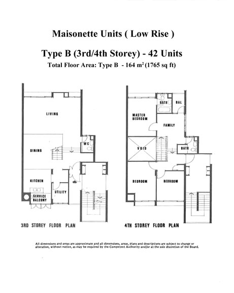 Layout plans ivory heights condominium for Maisonette house plans